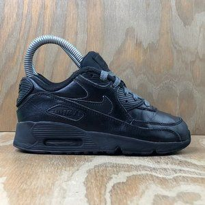Nike Air Max 90 Leather Shoes Youth Sneaker